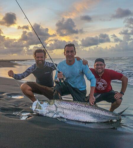 Tarpon Fishing Nicaragua Beach